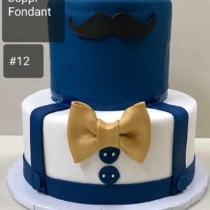 Two Tier Fathers Day Cake