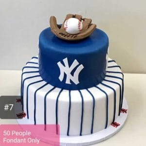 2 Tier Yankee Cake