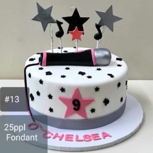 Pop Star Cake