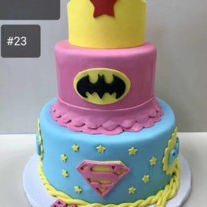 A Super Women's Cake
