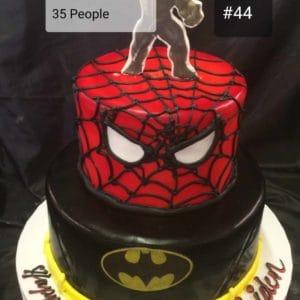 2 Tier Hero Cake