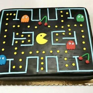 1/2 Sheet Pacman Cake