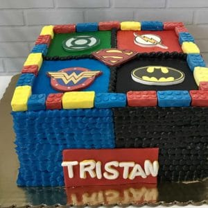 DC Lego Cake