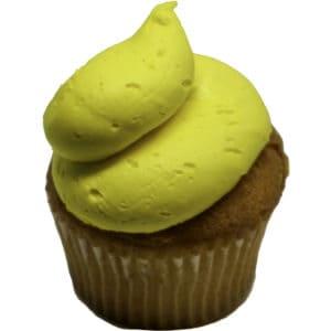 Yellow Classic Cupcake