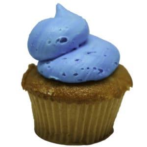 Blue Classic Cupcake