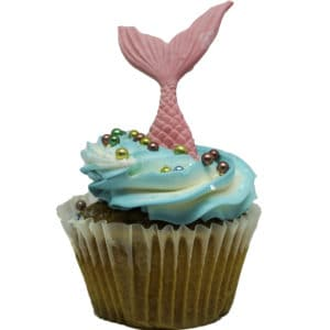 Jumbo Mermaid Cupcake